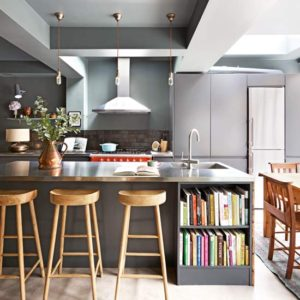 Love Dark Kitchen Cabinets