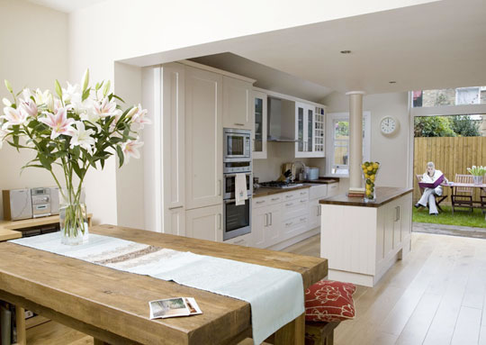 Kitchen inspiration in sheffield kitchens by milestone for Kitchen ideas 3 bed semi